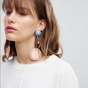 ASOS big drop earrings